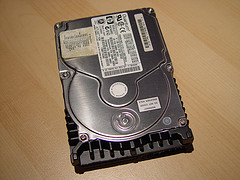 Hewlett Packard hard drive