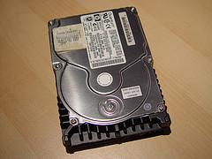 Hewlett Packard hard drive