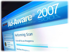 Screenshot of Ad-Aware 2007