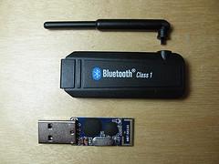 Black USB stick